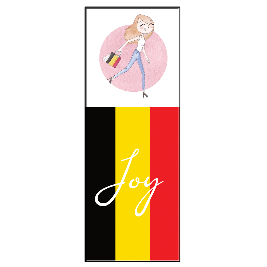 JOY BELGIUM BOOKMARK