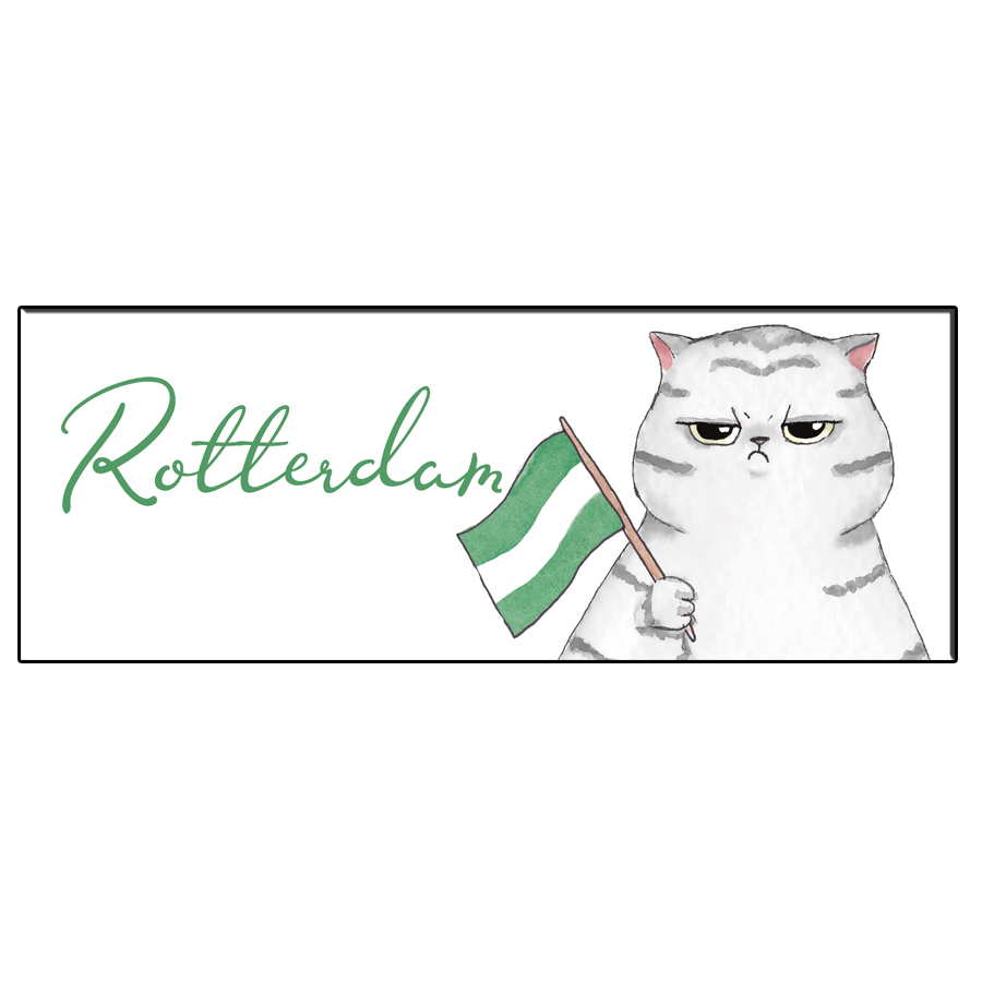 FUN CAT ROTTERDAM BOOKMARK