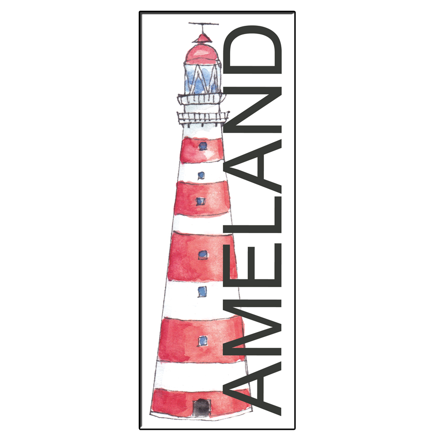 LIGHTHOUSE AMELAND BOOKMARK