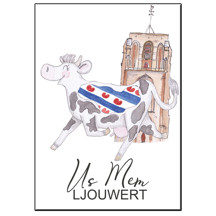 A5 CRAZY COW US MEM LJOUWERT CARD