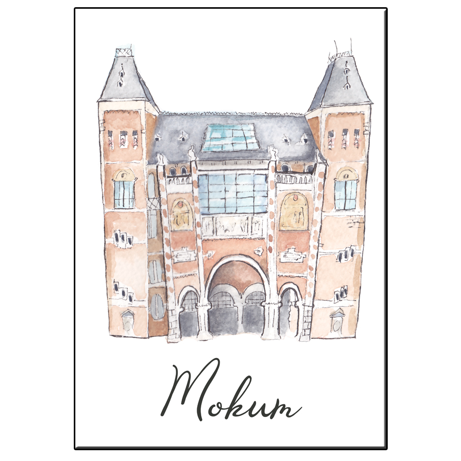 A5 CITY ICON RIJKSMUSEUM MOKUM CARD