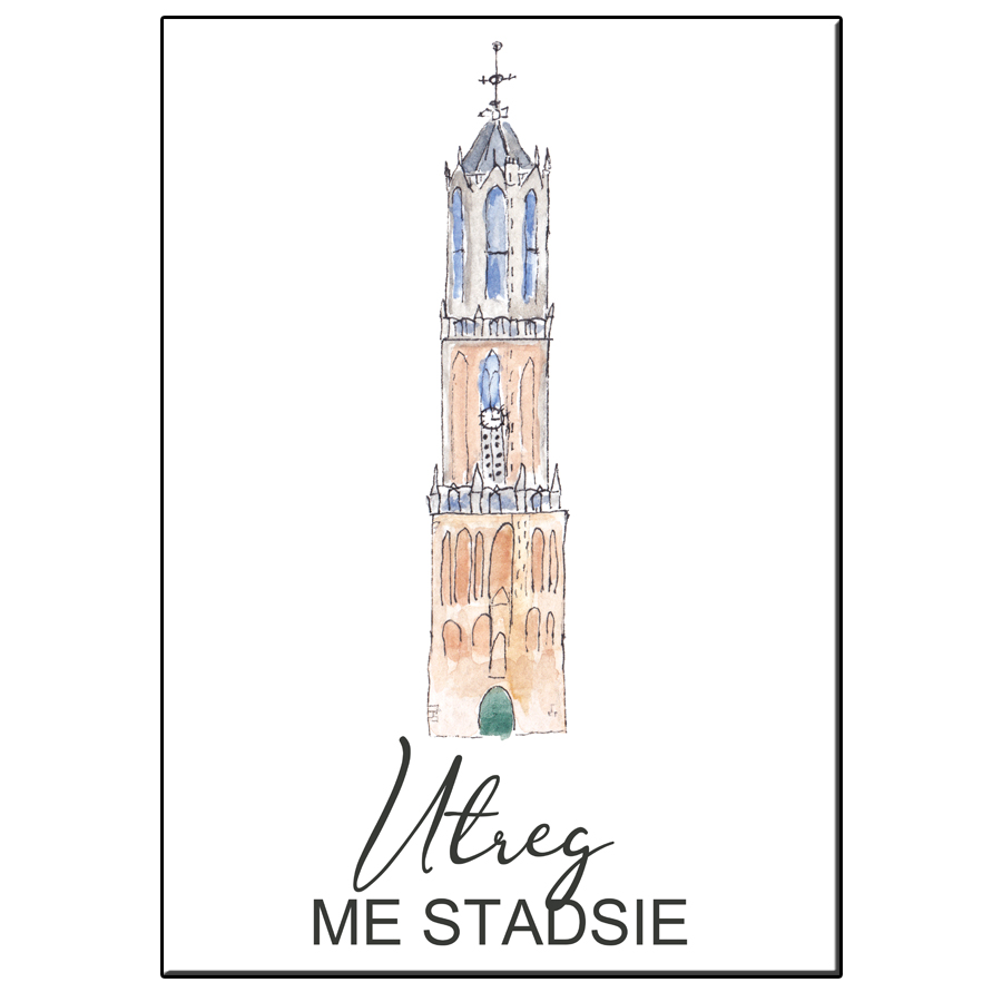 A5 CITY ICON UTREG ME STADSIE CARD