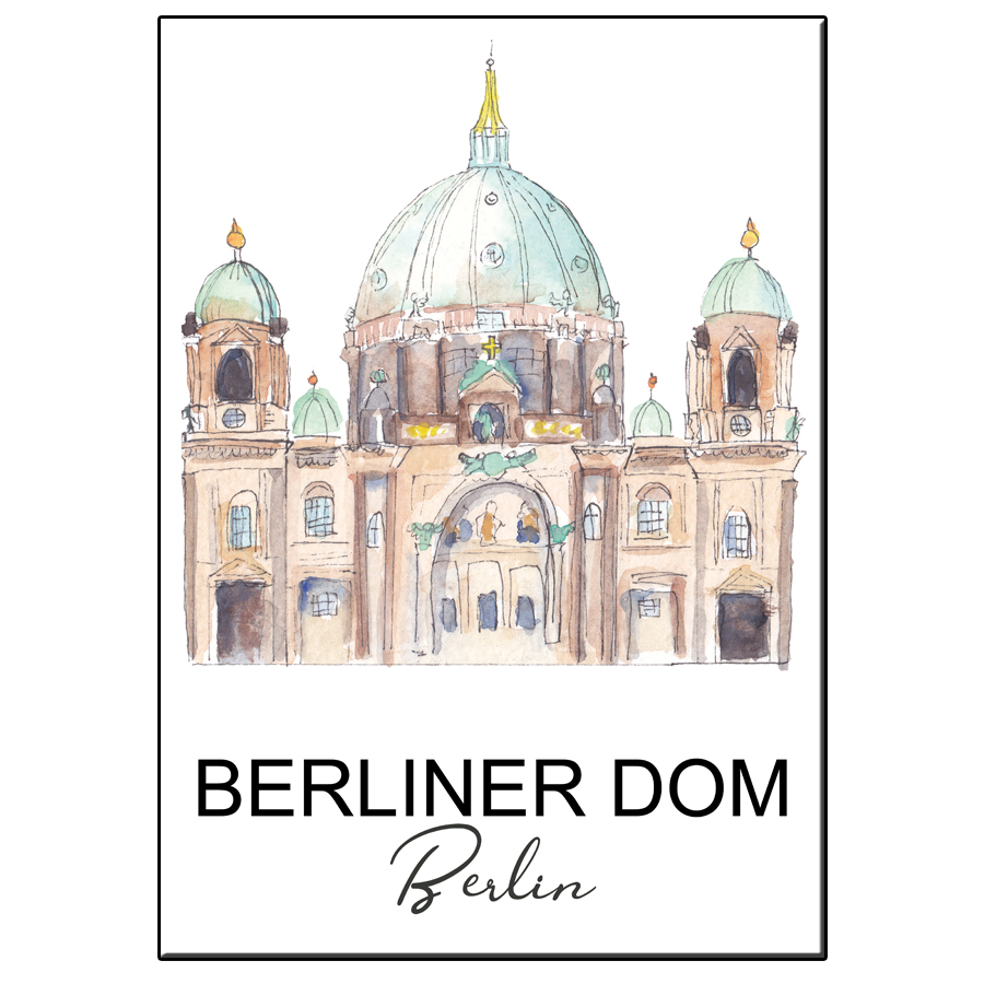 A5 CITY ICON BERLINER DOM CARD