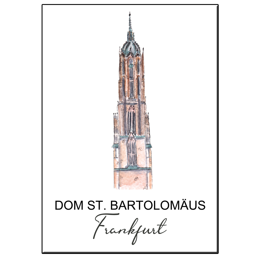 A5 CITY ICONDOM BARTOLOMAUS FRANKFURT CARD