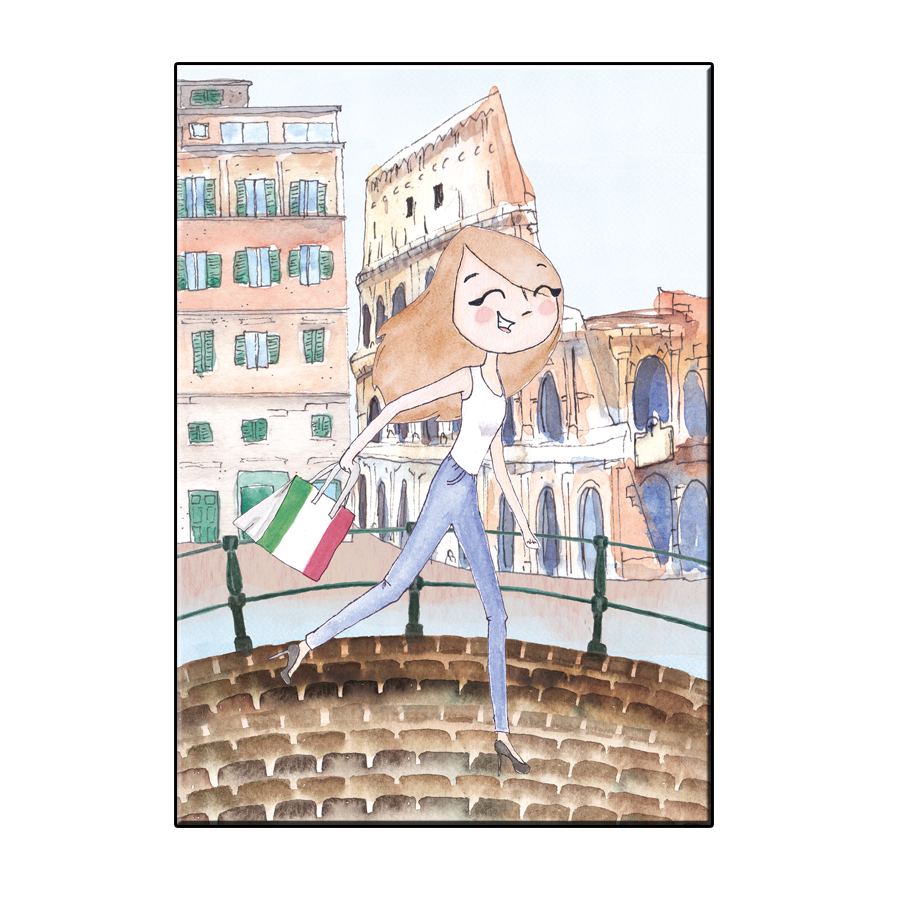 A6 JOY IN ROME CITY CARD
