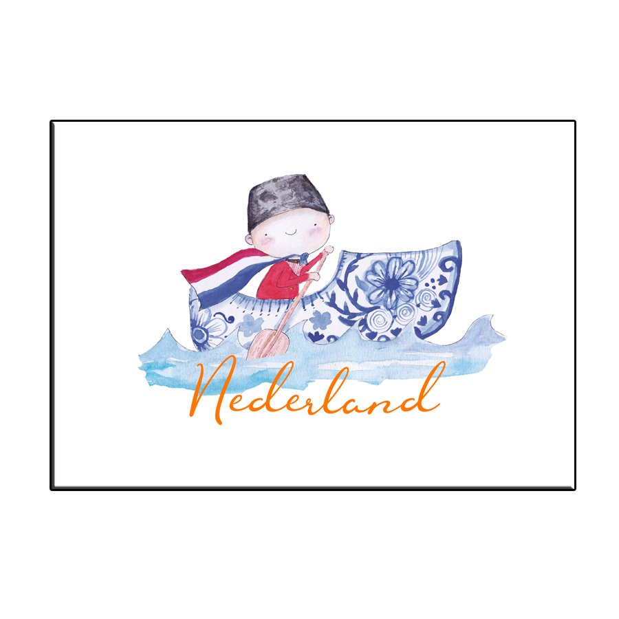 A6 HAPPY BOAT NL CARD