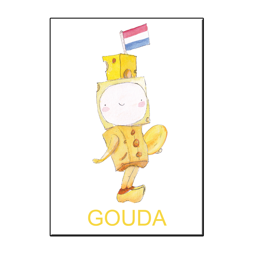 A6 HAPPY CHEESE BOY GOUDA