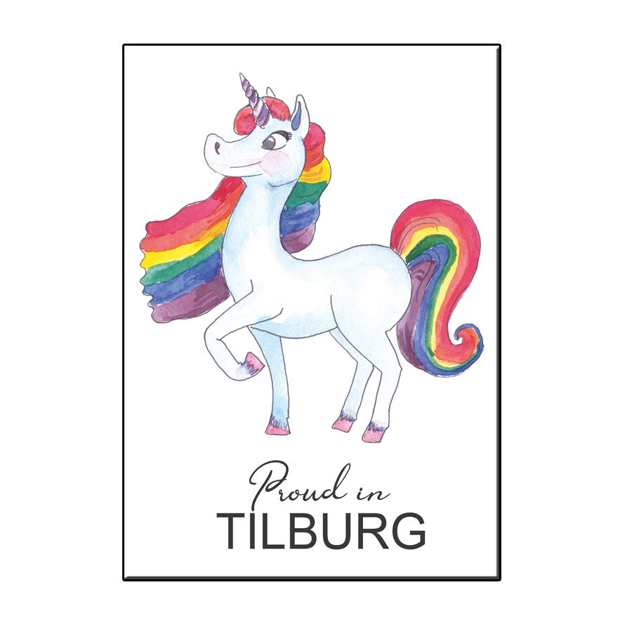 A6 PROUD IN TILBURG CARD