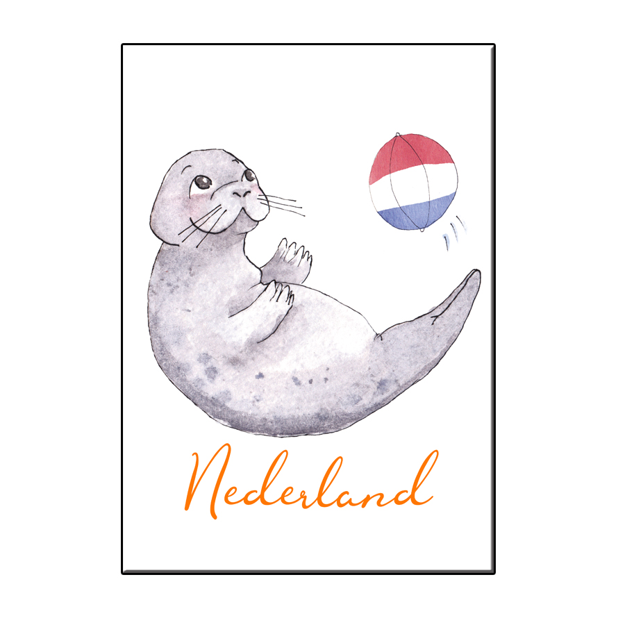 A6 LUCKY SEAL IN NL CARD