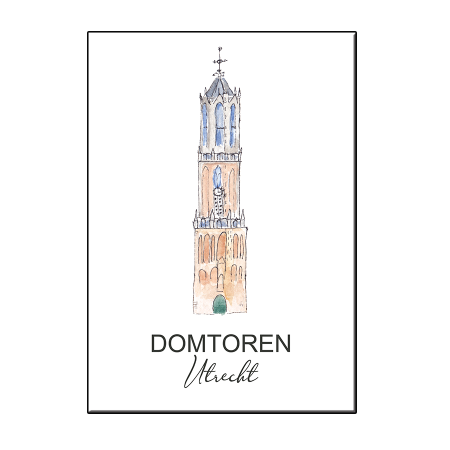 A6 CITY ICON DOMTOREN UTRECHT CARD