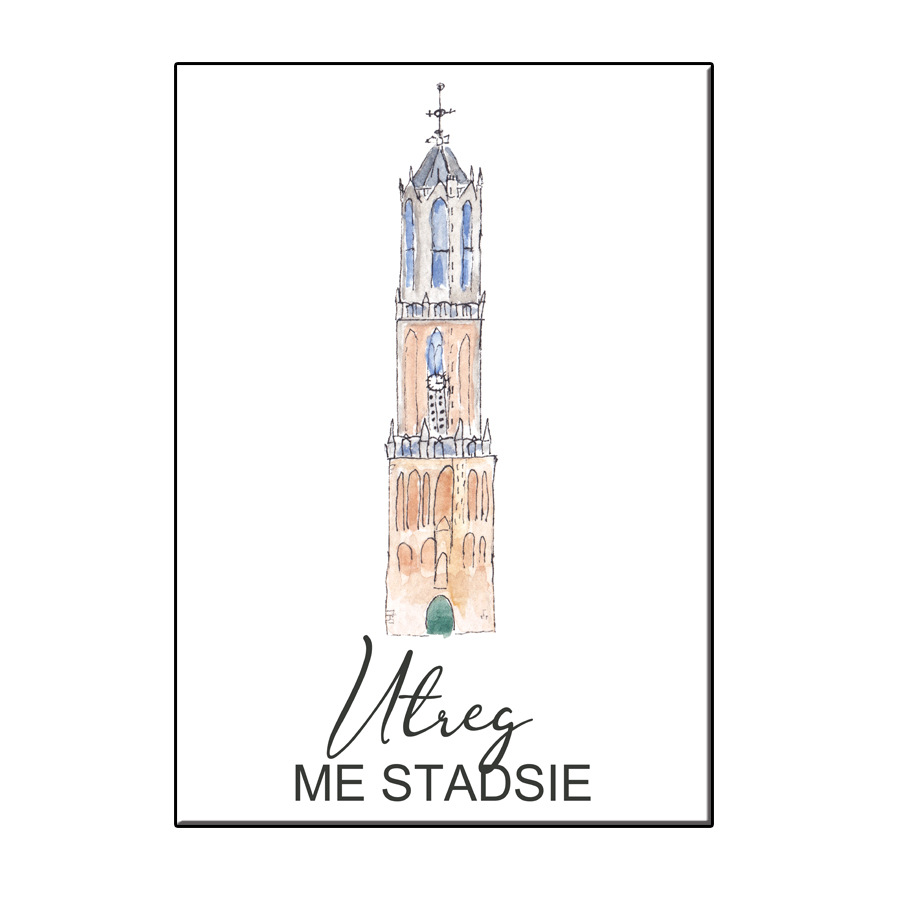 A6 CITY ICON UTREG ME STADSIE CARD