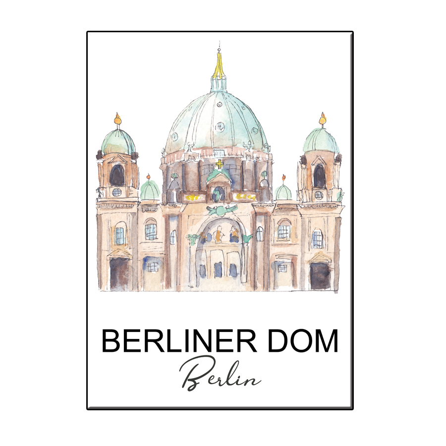 A6 CITY ICON BERLINER DOM CARD