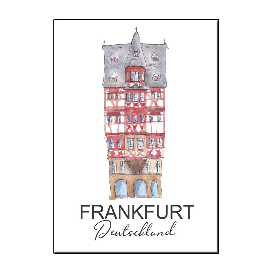 A6 CITY ICON HOUSE FRANKFURT CARD