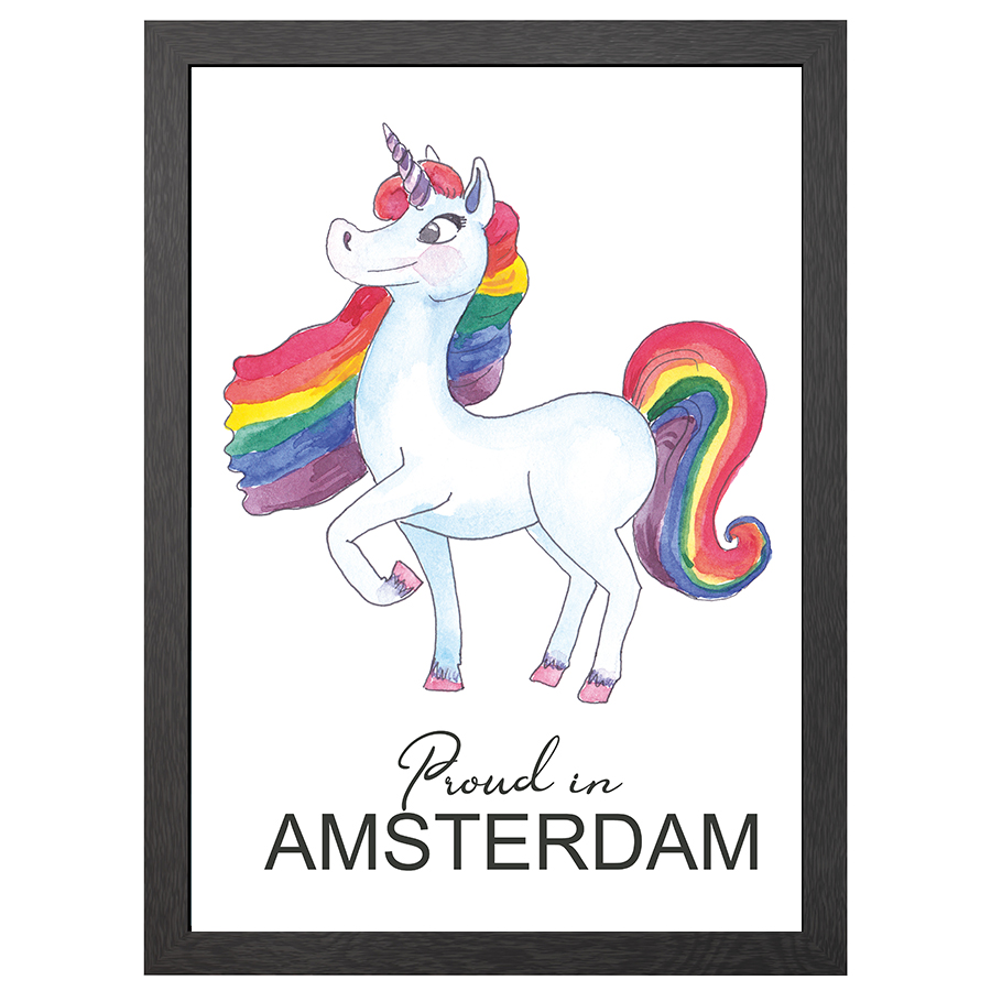 A2 FRAME PROUD IN AMSTERDAM