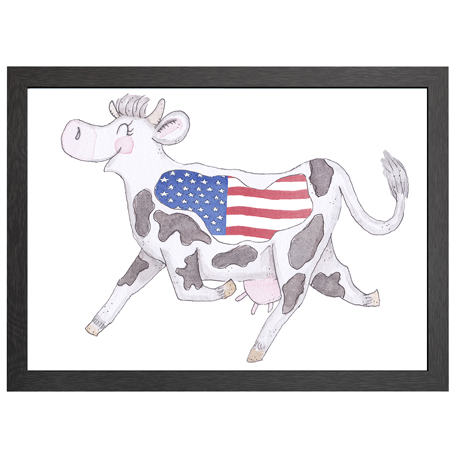 A2 FRAME CRAZY COW USA