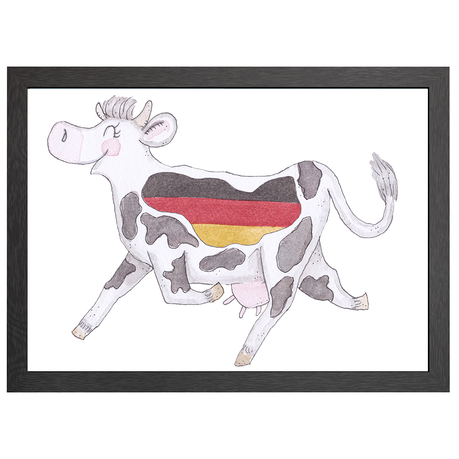 A2 FRAME CRAZY COW IN GERMANY