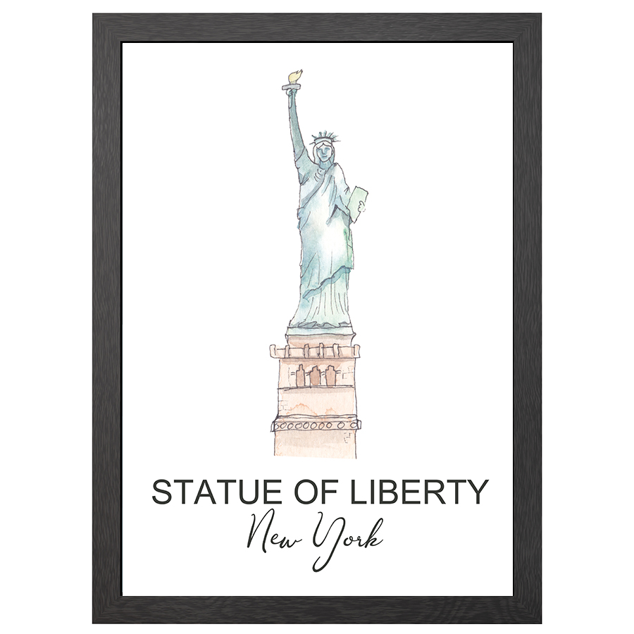 A2 FRAME STATUE OF LIBERTY NY