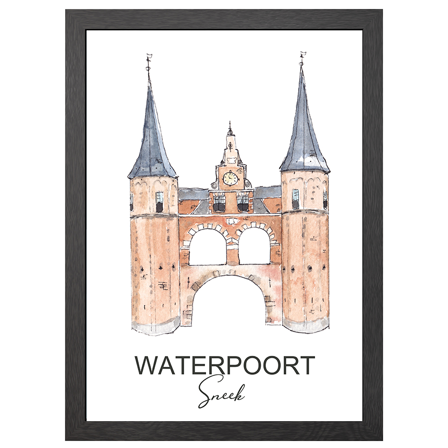 A2 FRAME WATERPOORT SNEEK