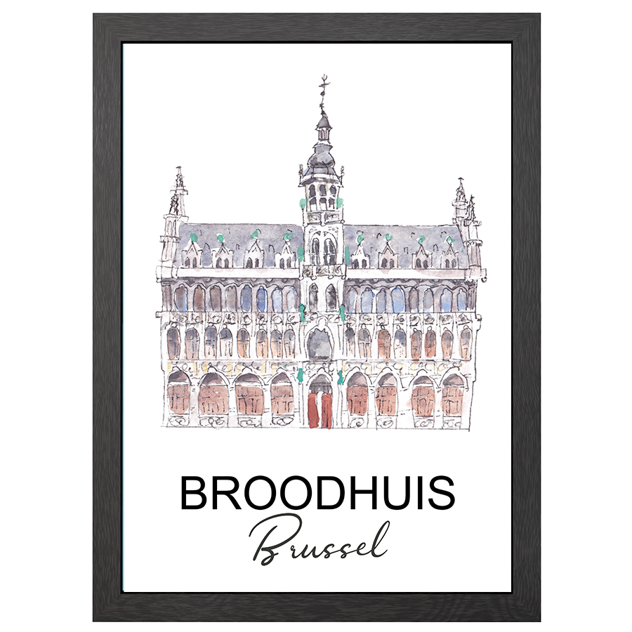 A2 FRAME BROODHUIS BRUSSEL