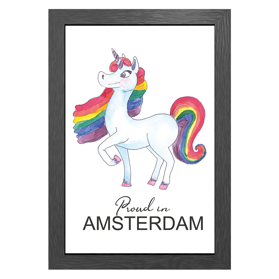 A3 FRAME PROUD IN AMSTERDAM
