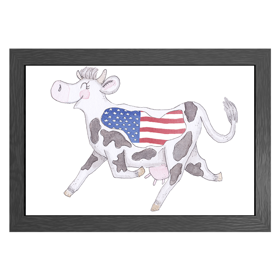 A3 FRAME CRAZY COW USA