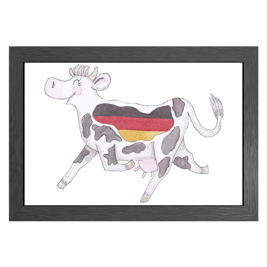 A3 FRAME CRAZY COW IN GERMANY