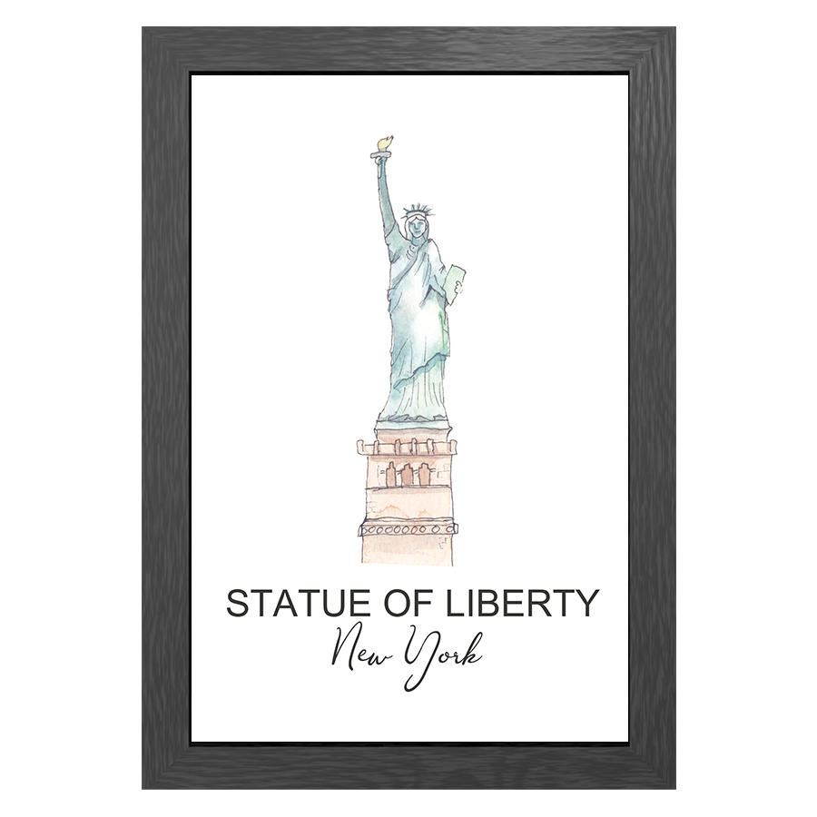 A3 FRAME STATUE OF LIBERTY NY