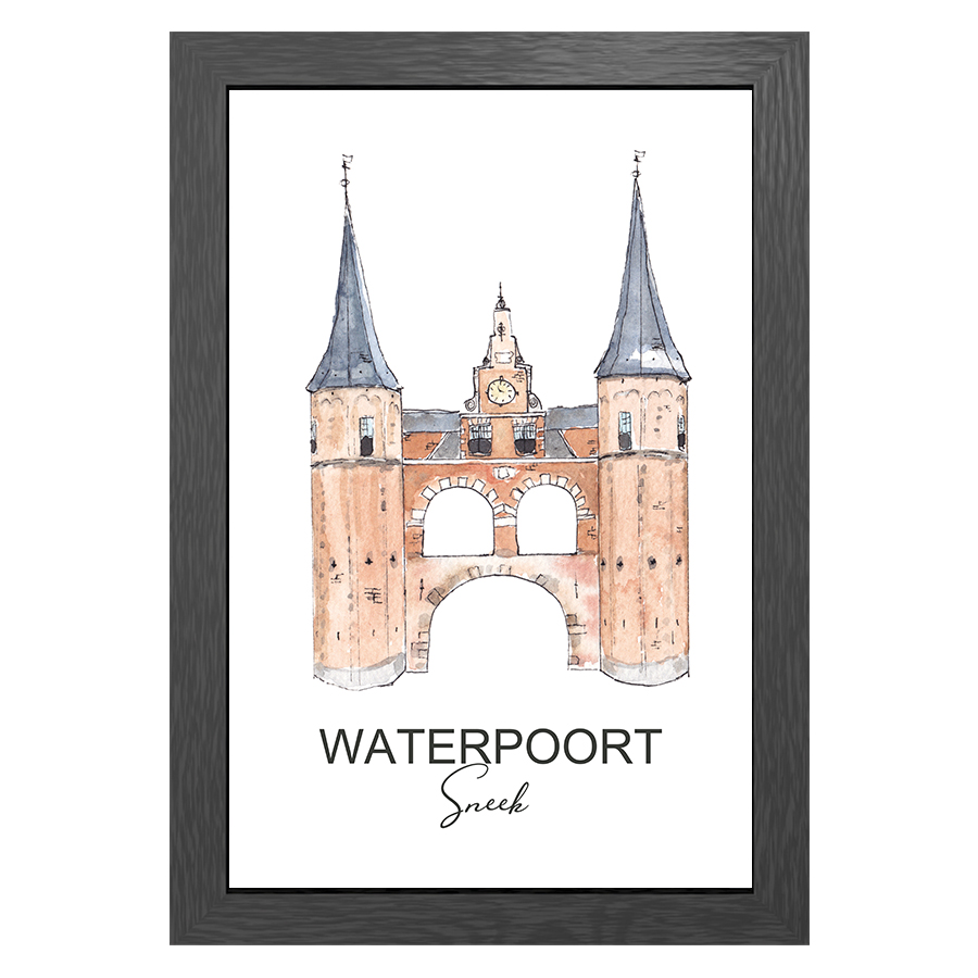 A3 FRAME WATERPOORT SNEEK