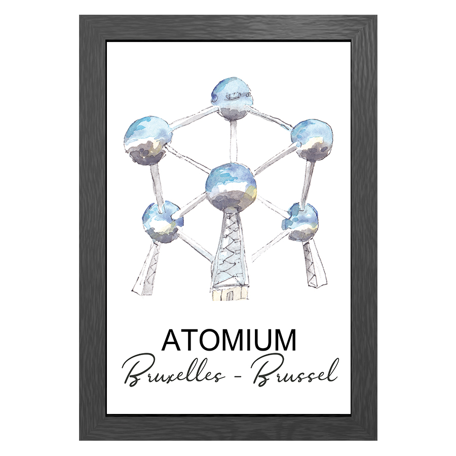 A3 FRAME ATOMIUM BRUSSELS