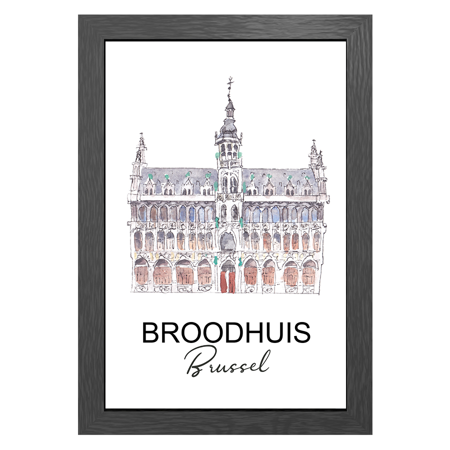 A3 FRAME BROODHUIS BRUSSEL