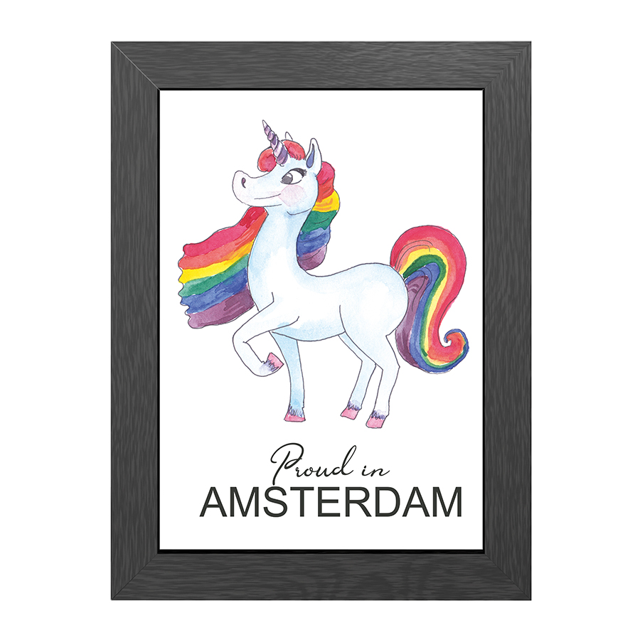 A4 FRAME PROUD IN AMSTERDAM