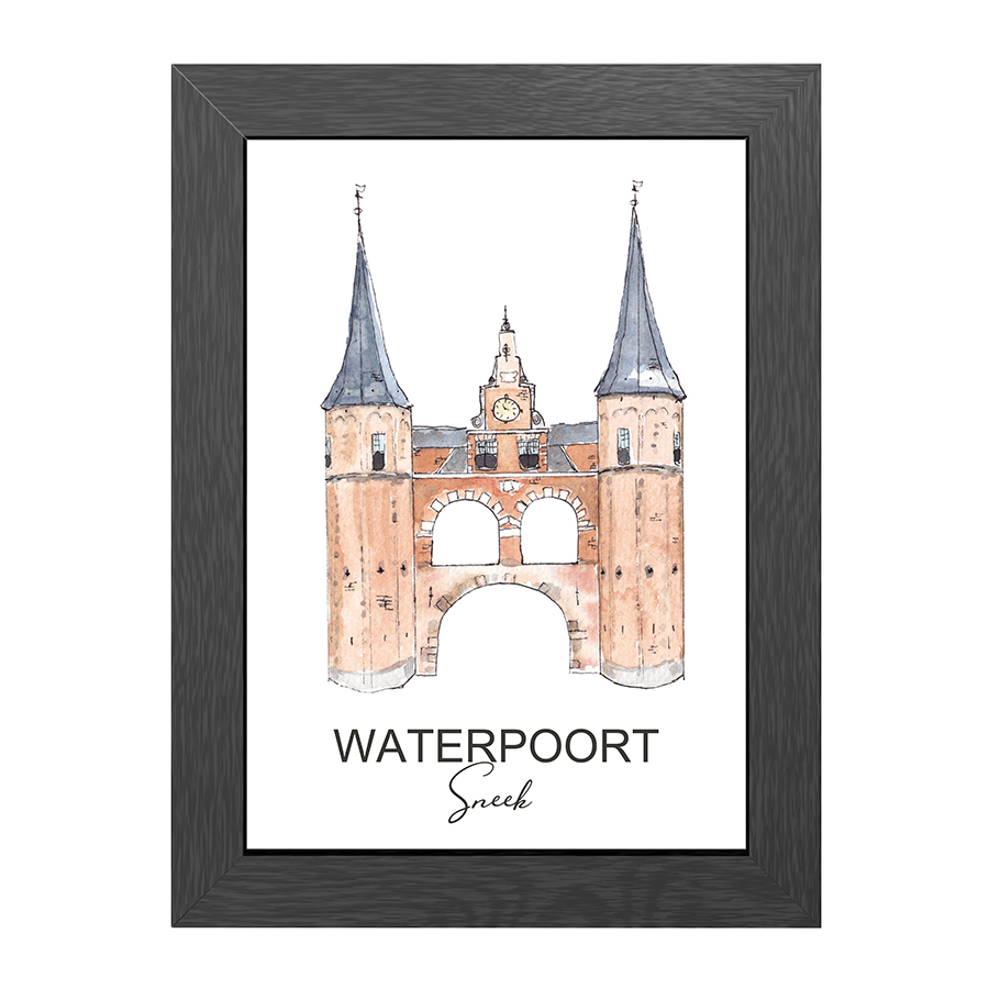 A4 FRAME WATERPOORT SNEEK