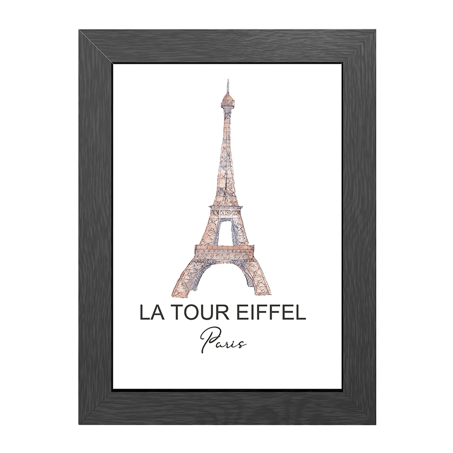 A4 FRAME TOUR EIFFEL PARIS