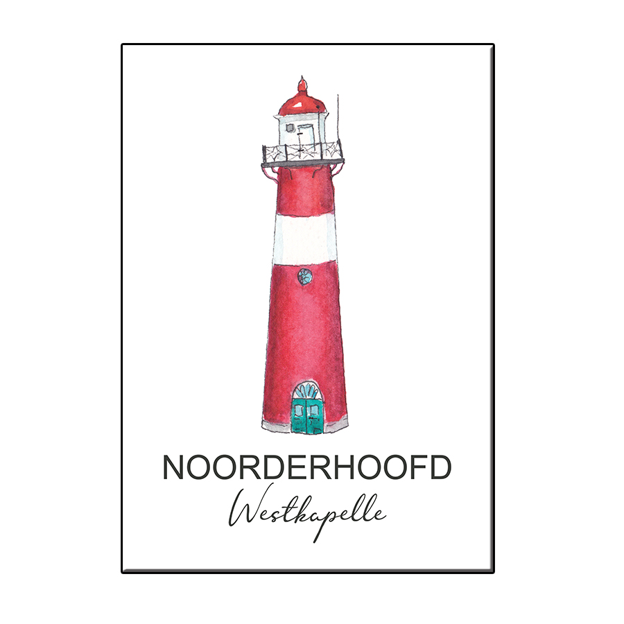 A6 LIGHTHOUSE NOORDERHOOFD WESTKAPELLE CARD