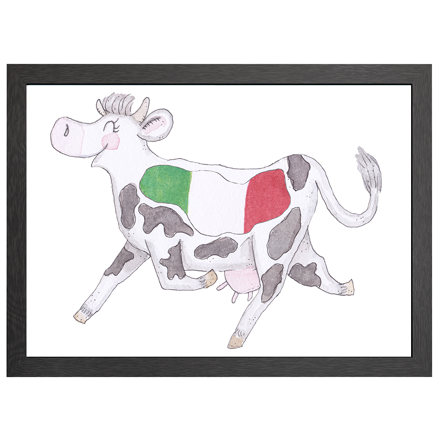 A2 POSTER COW ITALY