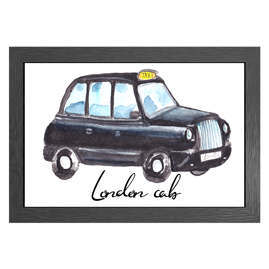 A3 POSTER LONDON CAB