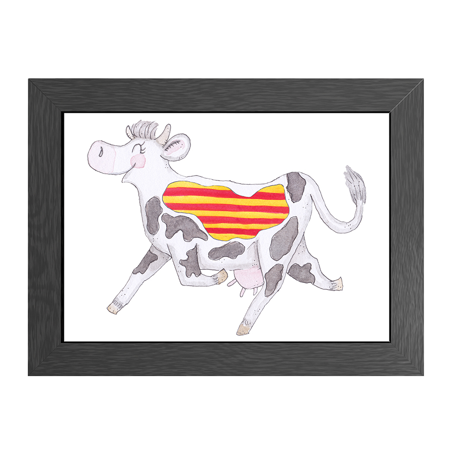 A4 POSTER COW CATALONIA