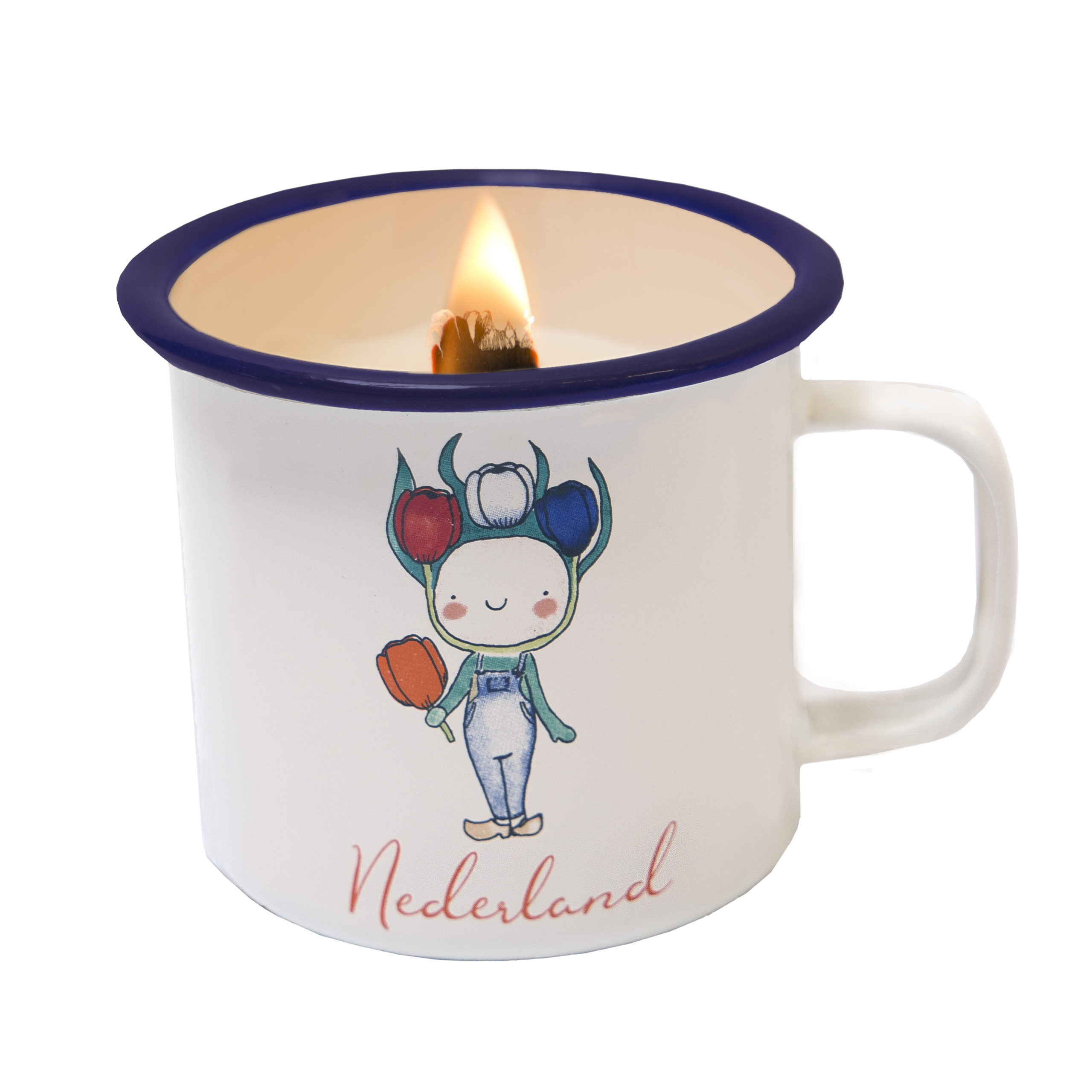 cANDLE IN A CUP HAPPY TULIP TULIPBOY NEDERLAND