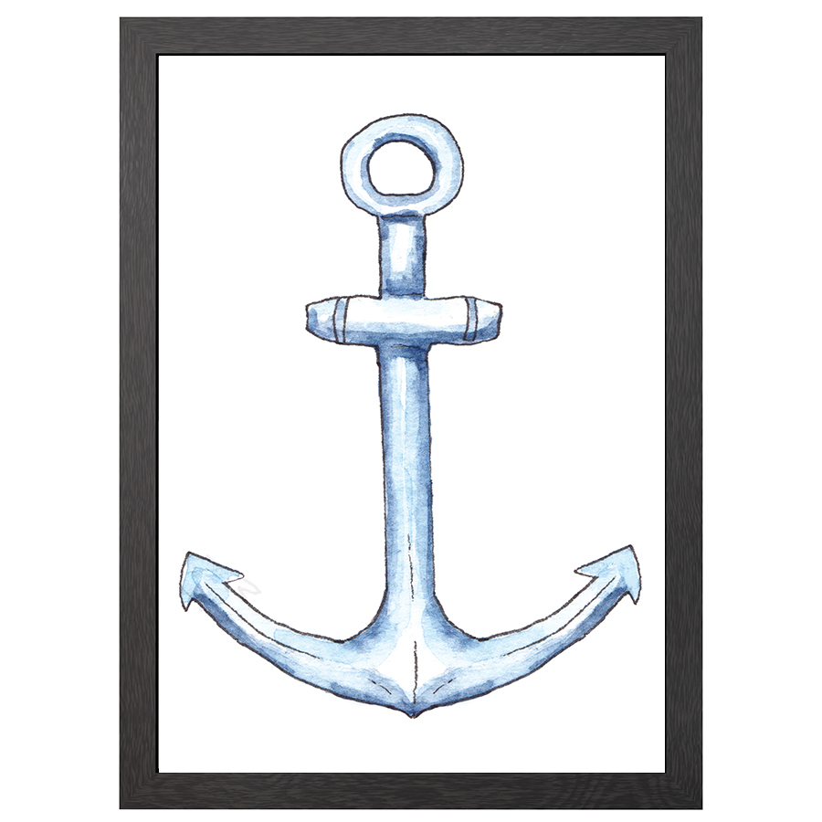A2 POSTER ANCHOR IN FRAME