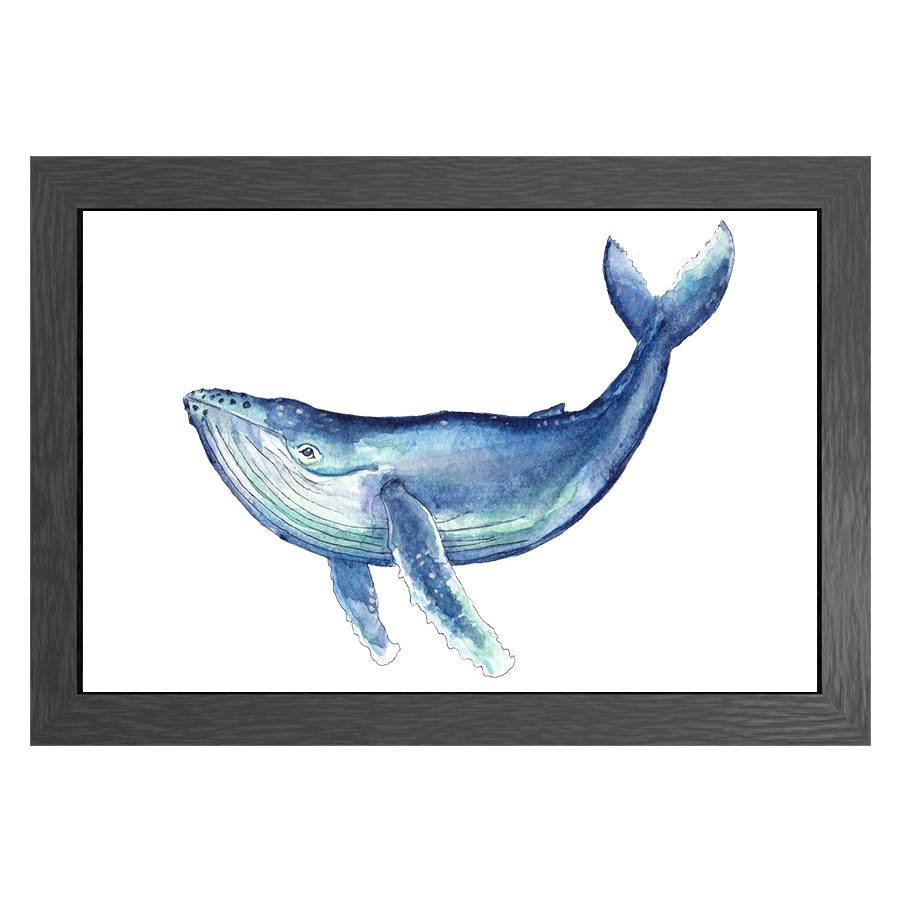 A3 POSTER WHALE IN FRAME