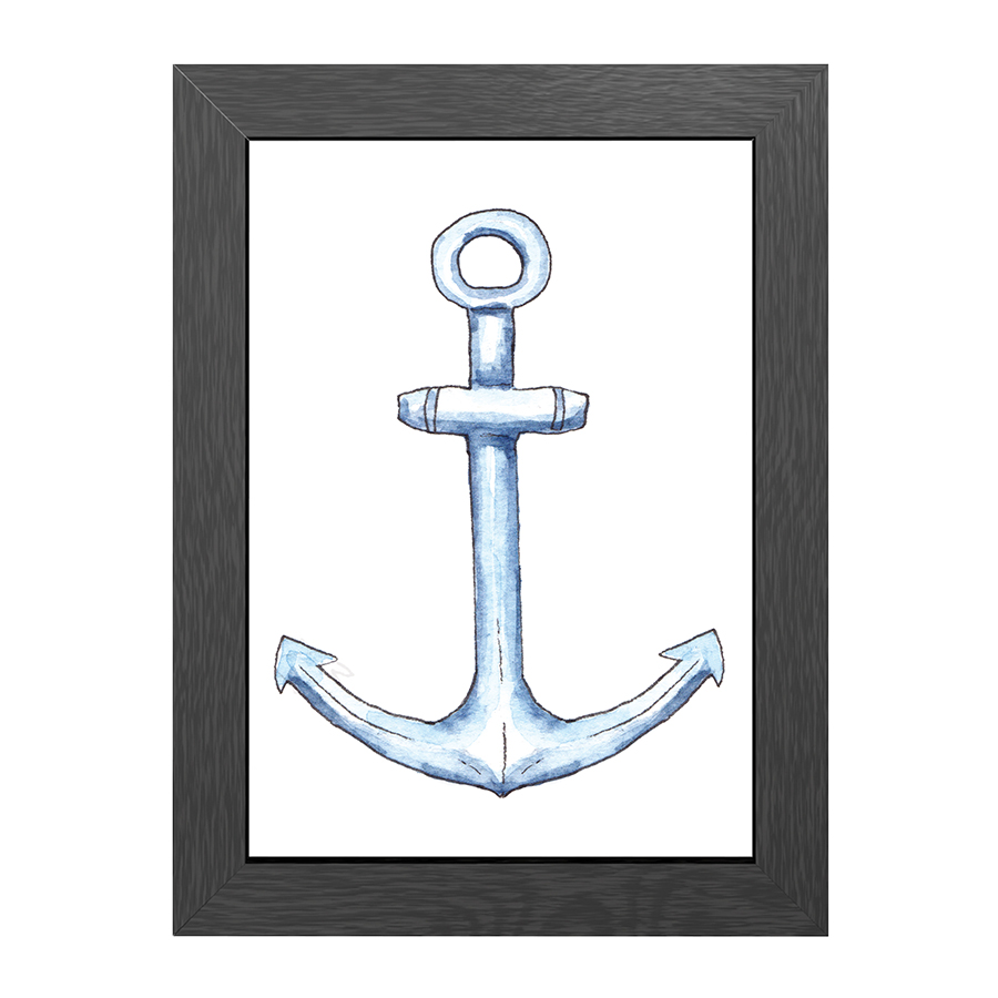 A4 POSTER ANCHOR IN FRAME
